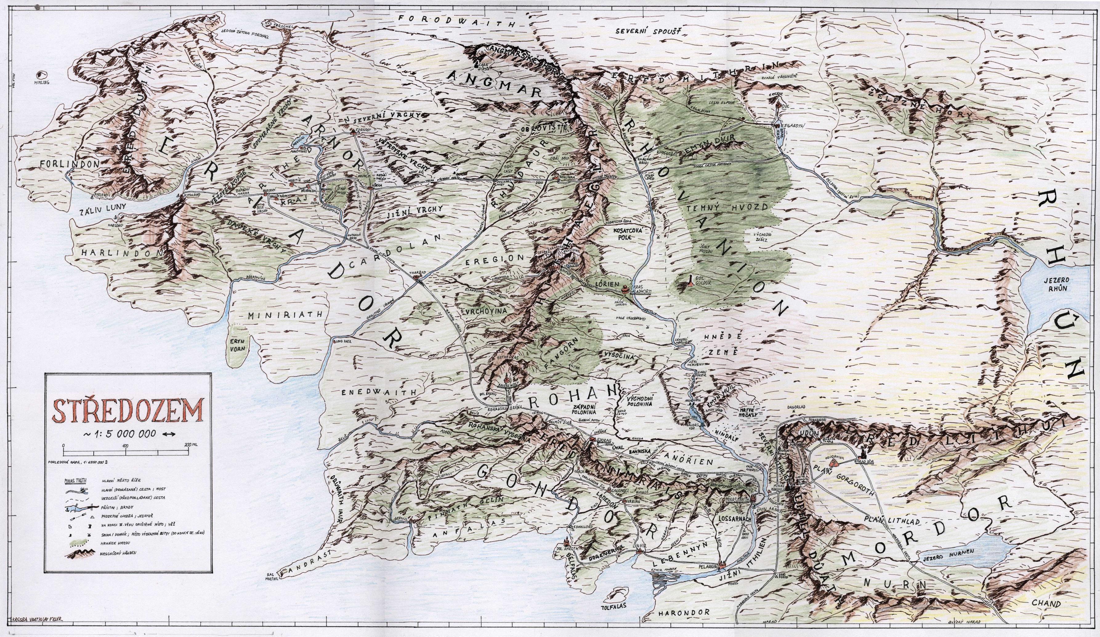 Mapa Stredozem Mapa